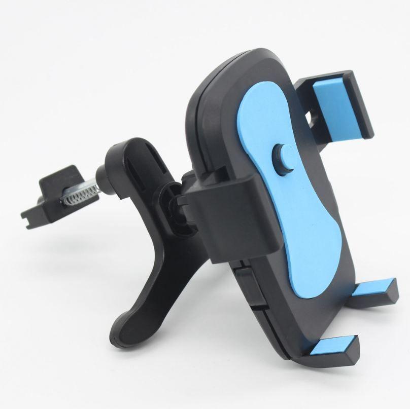 Soporte universal de gravedad del coche para el iPhone X 8 7 Samsung S7 S8 S6 teléfono celular titular de la salida de aire del coche del clip del montaje Smartphone Soporte