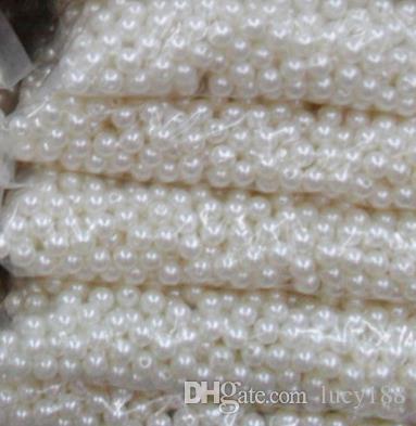 ABS Jóias Soltas 8 MM Contas para colares pulseiras do bebê Contas para fazer jóias contas de jóias china frete grátis