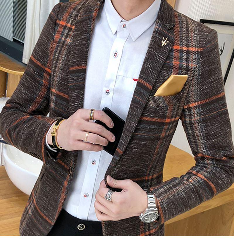 Suit Collar Men Jacket (6)