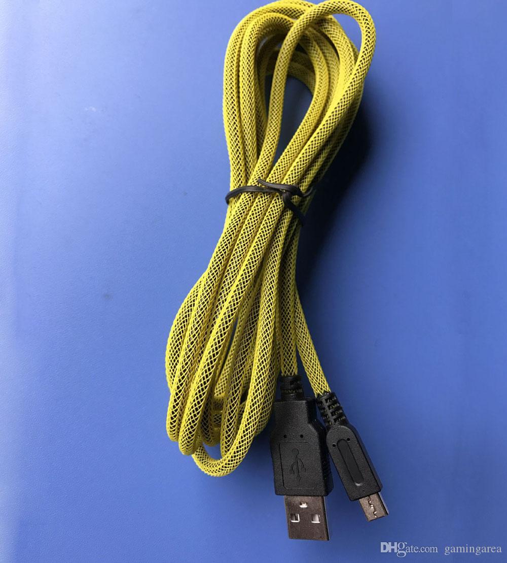 3 M 10ft Pleciona Ładowarka Ładowarka Kabel Szybki USB 2.0 Kabel zasilający dla 2DS 3DS 3DSLL New 3DSLL 3DSXL DSI DHL Fedex EMS Darmowa Wysyłka