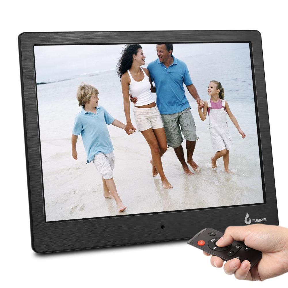 10 بوصة شاشة IPS صور + موسيقى + فيلم + التقويم + ساعة + ذاكرة + واي فاي P2P إطار رقمي 1280 * 800 صورة إطار الصورة