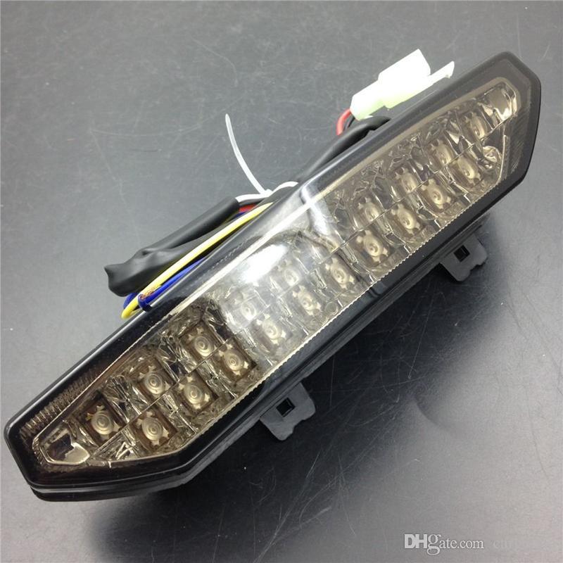가면 오토바이 LED 테일 라이트 신호등 가와사키 닌자 ZX6R 2007-2008