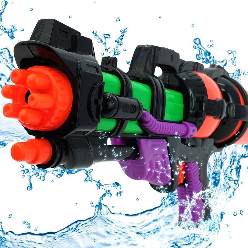 Wholesale 4 Pcs Big 44CM High Pressure Large Capacity Water Gun Pistols Children Kids Outdoor Games Toys