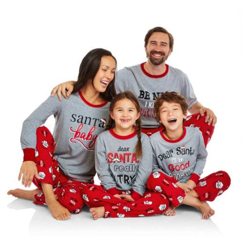 Best Family Christmas Pajamas.Family Matching Outfits Best Christmas Pajamas Set Sleepwear Women Baby Kids Deer Matching Outfits For Mother And Baby Mother Daughter Matching Easter