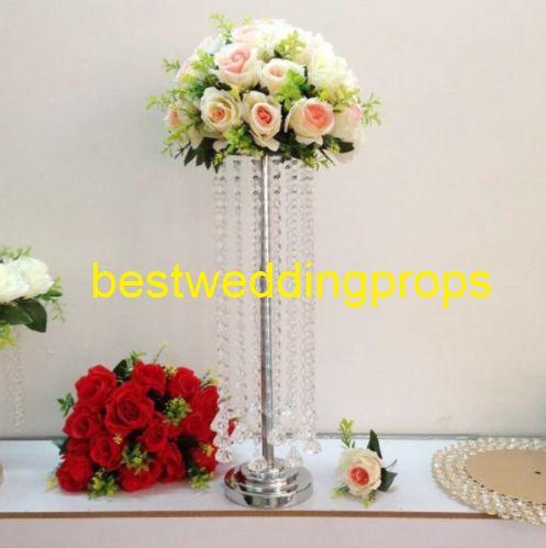 centrotavola per vaso da sposa centrotavola per matrimonio Fornitura di vasi alti vasi decorativi da sposa best0169