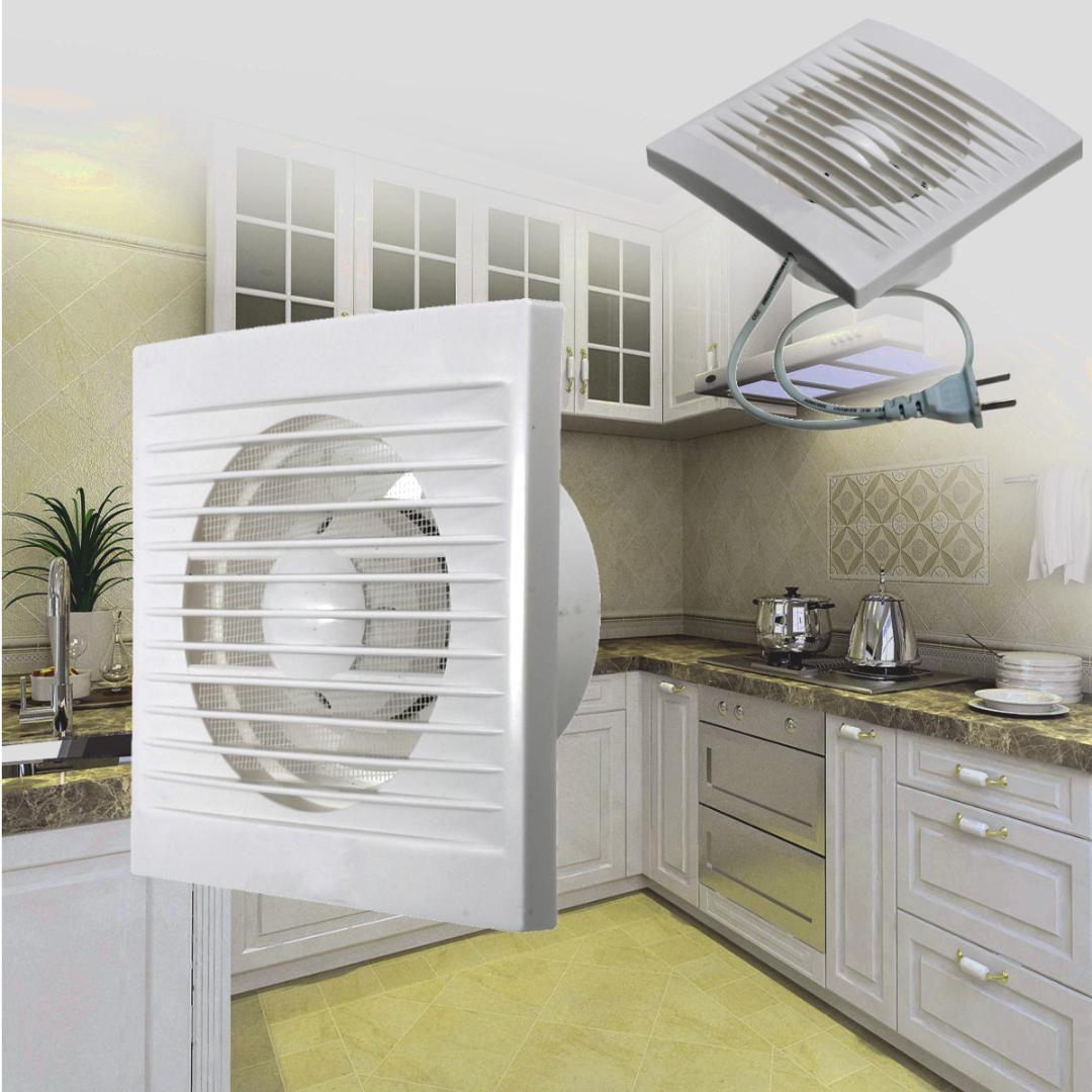 Fenetre Salle De Bain acheter extracteur de ventilation ventilateur dextraction ventilateur mur  de fenêtre cuisine cuisine salle de bains toilette de 15,08 € du