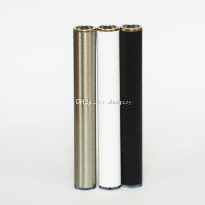 350 mah Bateria Automática 510 Rosca Vape Baterias Sem Botão 350 mah Caneta Vape Bateria para Cartucho de Óleo Grosso DHL Livre