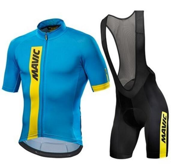 detailed pictures affordable price classic 2019 MAVIC Cosmic Cycling Jersey Maillot Ciclismo Short Sleeve And Cycling  Bib Shorts Cycling Kits Strap Cycle Jerseys Ciclismo Bicicletas From ...