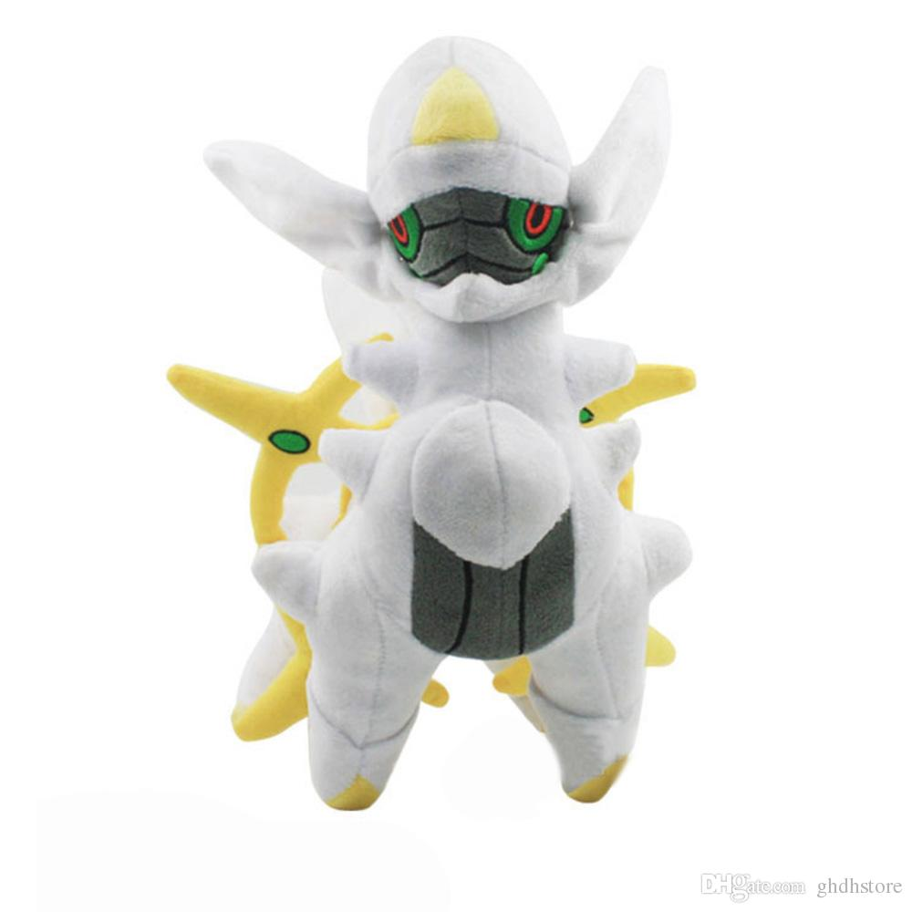 """Hot New 10"""" 25CM Arceus Plush Doll Anime Collectible Stuffed Dolls Gifts Soft Toys"""
