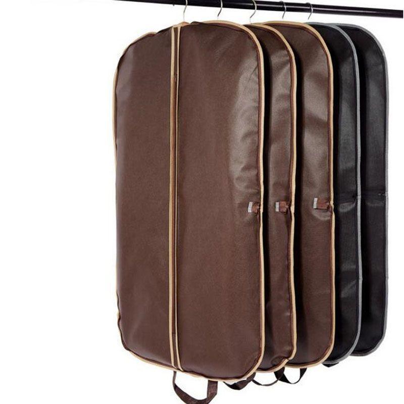 20pcs / lot 블랙 코트 의류 의류 정장 가방 방진 옷걸이 스토리지 수호자 여행 스토리지 주최자 케이스 ZA4234
