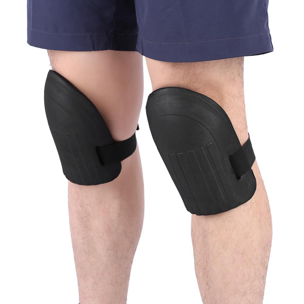 1 Pair Soft Soft Foam Knee Pads Protector Cushion Sport Knee Support Climbing Gardening Builder Kneecap Safety Sports
