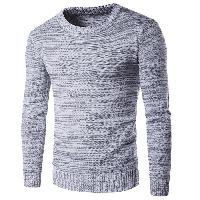 2018 년 가을 겨울 브랜드 남성용 스웨터 스웨터 편직 양모 따뜻한 디자이너 슬림 피트 캐주얼 니트 맨 니트웨어
