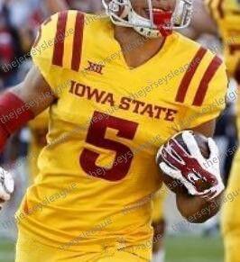 2021 Isu Iowa State Cyclones 32 David Montgomery 17 Kyle Kempt 5 Allen Lazard 18 Hakeem Butler Red Yellow White Ncaa College Football Jersey From Thejerseysleague 16 6 Dhgate Com
