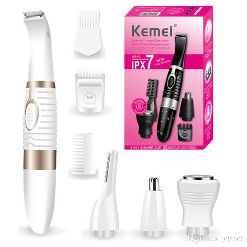 Multi-Functional Professional Powerful 4 in 1 ladies electronic shaver Multi-Functional Electric Hair Removal DHL free shipping