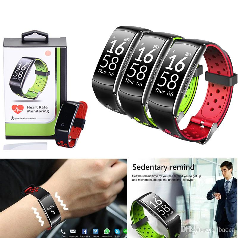 Q8 Smart band IP68 waterproof Smart Wristband Heart rate Fitness tracker Smart Bracelet Wearable devices watch PKS2