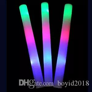 Пена Llight Up Foam, 3 режима Разноцветный мигающий светодиодный стробоскоп для концертов, вечеринок и мероприятий от Lifbeier, 10шт.