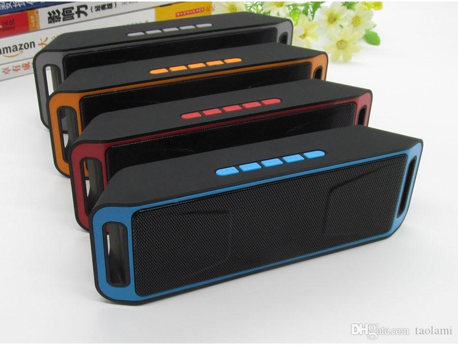SC208 Wireless Bluetooth Speaker Hi-Fi 3D Stereo Subwoofer USB Speakers TF FM Radio Built-in Mic Dual Bass Sound Box PK CHARGE2 Pulse Pills