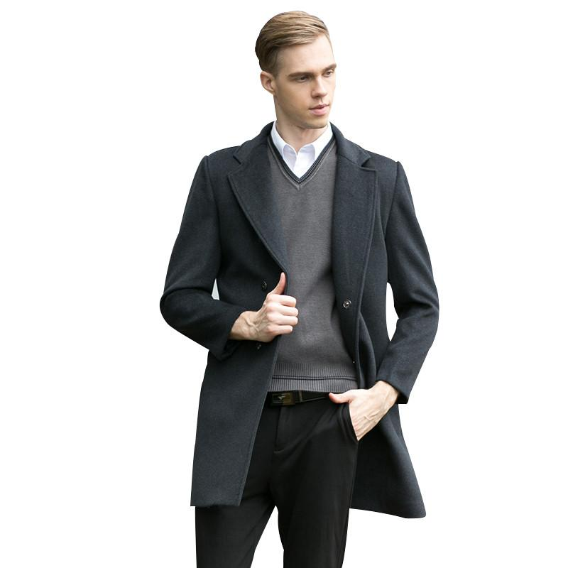 Fashion Brand Clothing Wool Jacket Men, Fashion Brand Pea Coat