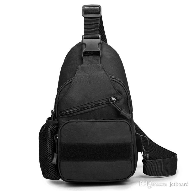 Nylon Hiking Sling Crossbody Bag for Men Large capacity outdoor cycling sports shoulder bagpack crossbody chest sling bag