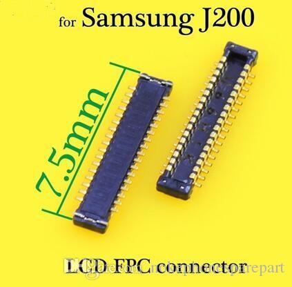 Display LCD con connettore FPC per Samsung per GALAXY J200 Logic su scheda madre