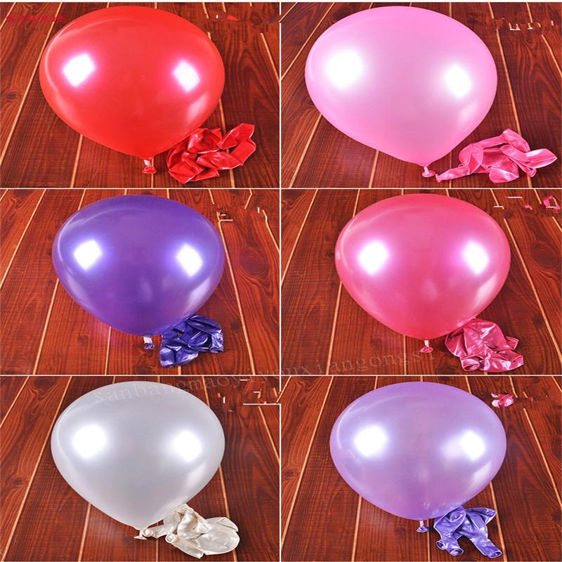 100 pz di colore solido decorazione della festa di Natale palloncino festa di compleanno decor bambini palloncino pallone in lattice elio palloncino ZDZ409