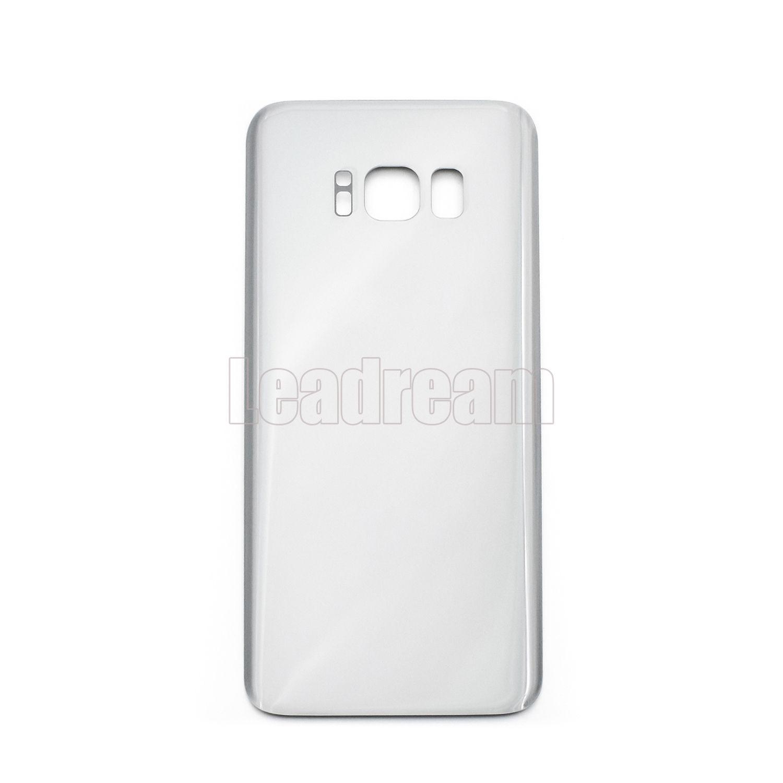 100pcs couvercle de la batterie couvercle de la batterie arrière en verre couvercle pour Samsung Galaxy S8 G950P G950P S8 Plus G955P avec autocollant adhésif gratuit