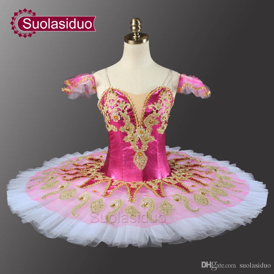 Dorosły Rose Red Ballet Tutu The Nutcracker Perfromance Stage Nosić Kobiety Green Ballet Dance Konkurencji Kostiumy Dziewczyny Suknie Baletowe
