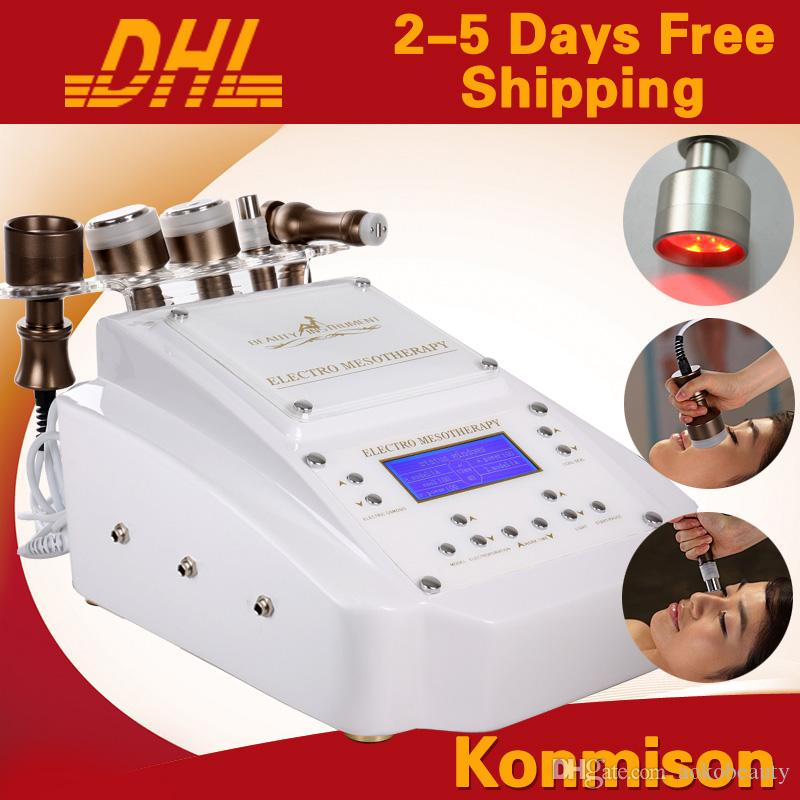 No Needle Mesotherapy Facial Machine With RF BIO Cooling Photon For Skin Rejuvenation Wrinkle Removal Portable Home Use