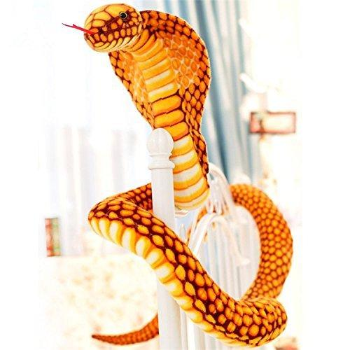 Big Plush American Made Giant Stuffed Snake 18 Feet Long Soft Pink Serpent