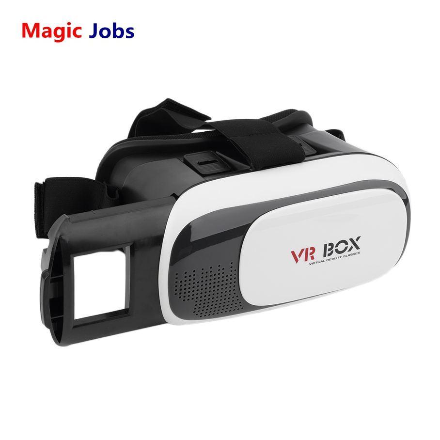 "Magic_jobs NEW VR BOX II 2.0 Realidade Virtual 3D VR Óculos BOBOVR Z3 Head Mount Gear Headset para 4 ""~ 6"" Telefone com Bluetooth remoto"