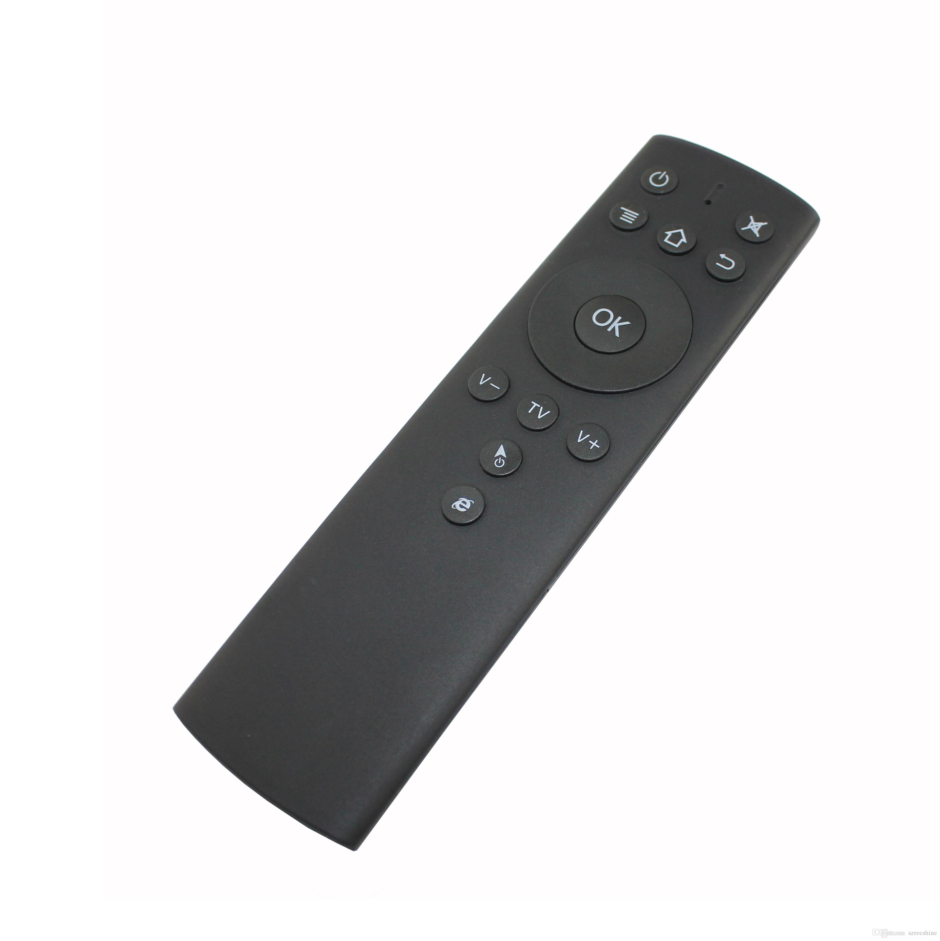 T1 2.4GHz Fly Air Mouse Wireless Remote Control with 6-axis Motion Sensing IR Learning with USB Receiver for TV Box