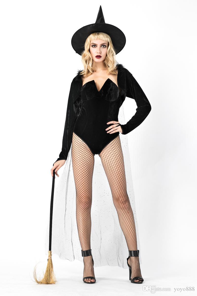 Sexy Lingerie Bayan Gotik Cadılar Bayramı Fantezi Elbise Cadı Kostüm Fantezi Elbise Kostüm 8869