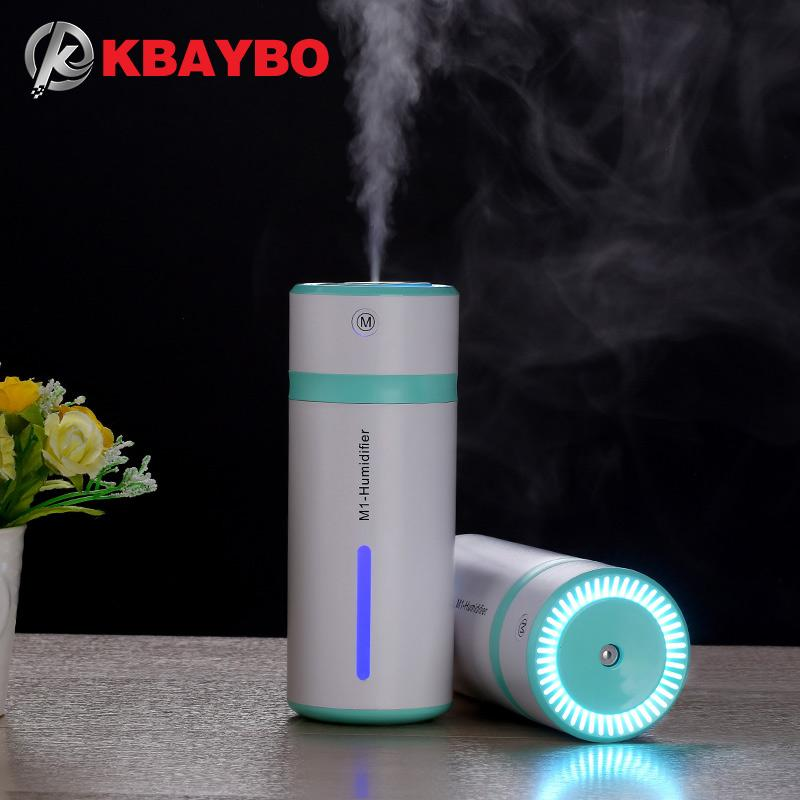 New Home Humidifier USB Cool Mist Ultrasonic humidifier Air Diffuser Atomizer