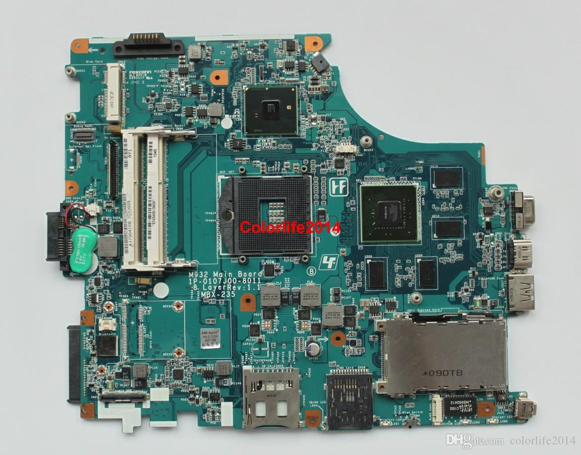 for Sony Vaio VPCF1 Series A1796418B M932 MBX-235 Laptop Motherboard Mainboard Tested