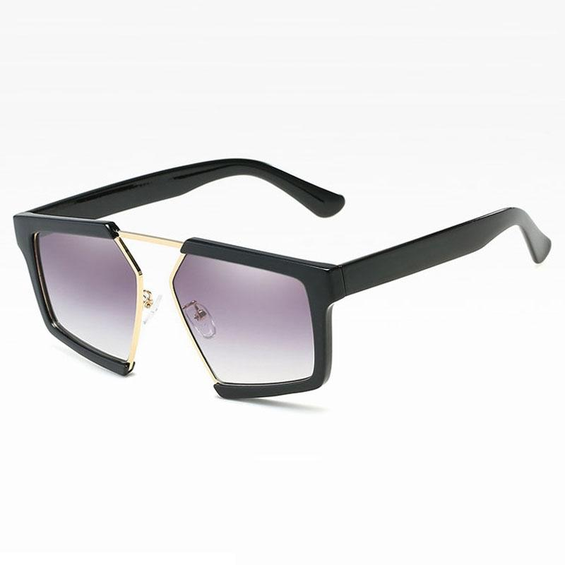 Gafas de sol para hombres mujeres de gran tamaño para hombre gafas de sol de moda Sunglases señoras gafas de sol de lujo gafas de sol de diseñador de alta calidad retro 8C7J09