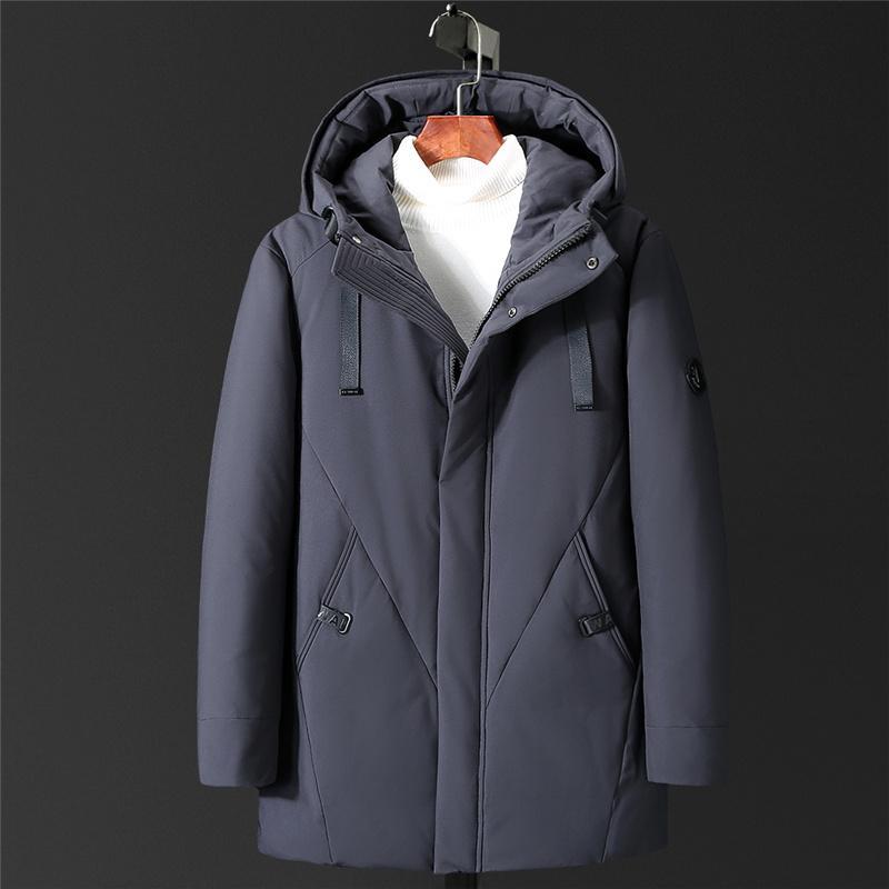 Großhandel VSD Warme Winter Entendaunen Dünne Jacke Für Mens Mit Kapuze Kragen Mantel Männer Parka Winterjas Heren Daunenjacke Windbreaker Neues