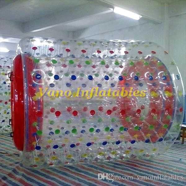 La ruota gonfiabile commerciale del criceto del corridore dell'acqua della palla del rullo del PVC di Waterwalker 2.6x2.4x1.9m con la pompa libera il trasporto