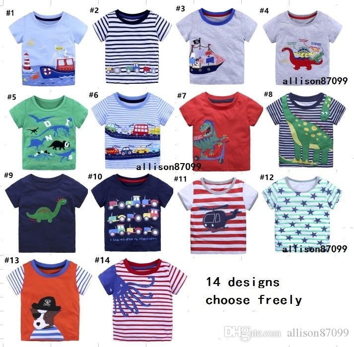 T Shirt Tee Boys Toddler Baby Long Sleeve Top 12 18 24 Months One Piece 2t 3t 4t