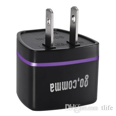 WN EUA / UE / AU / REINO UNIDO Padrão Carregador de Conector do Adaptador de Alimentação Tomada de Energia Plug Carregador de Viagem Adaptador Conversor Conector EUA / UE / AU / UK Plug DBTB
