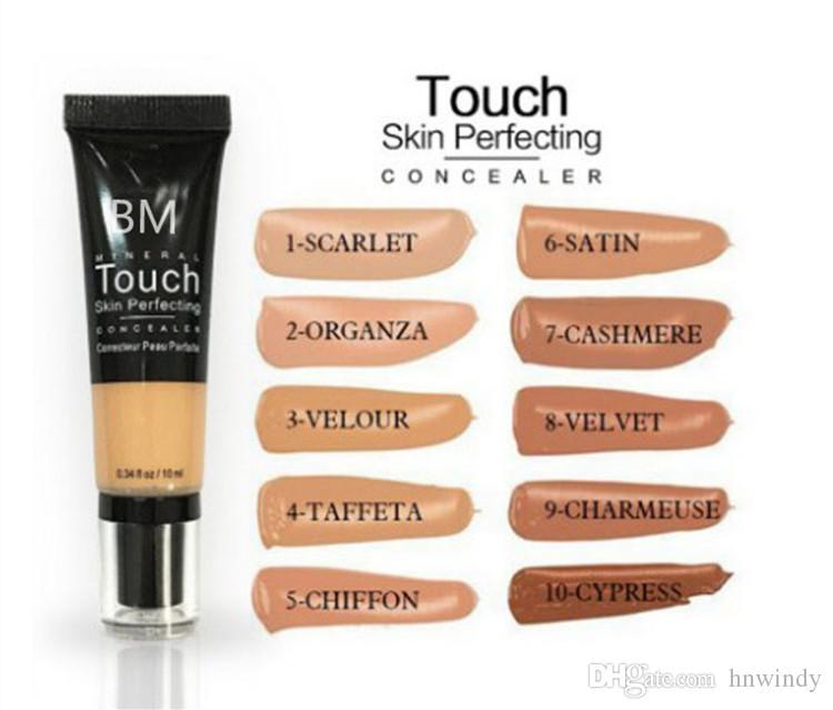 Younique Fond de teint liquide peau minérale tactile perfectionnant Correcteur crème BB crème maquillage cosmétiques pour le visage naturel 10