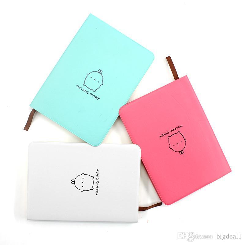 Calendar Notepad Cute Kawaii Cartoon Rabbit Book Diary Planner Program Notebook and Gournal for Weekly Monthly Plan