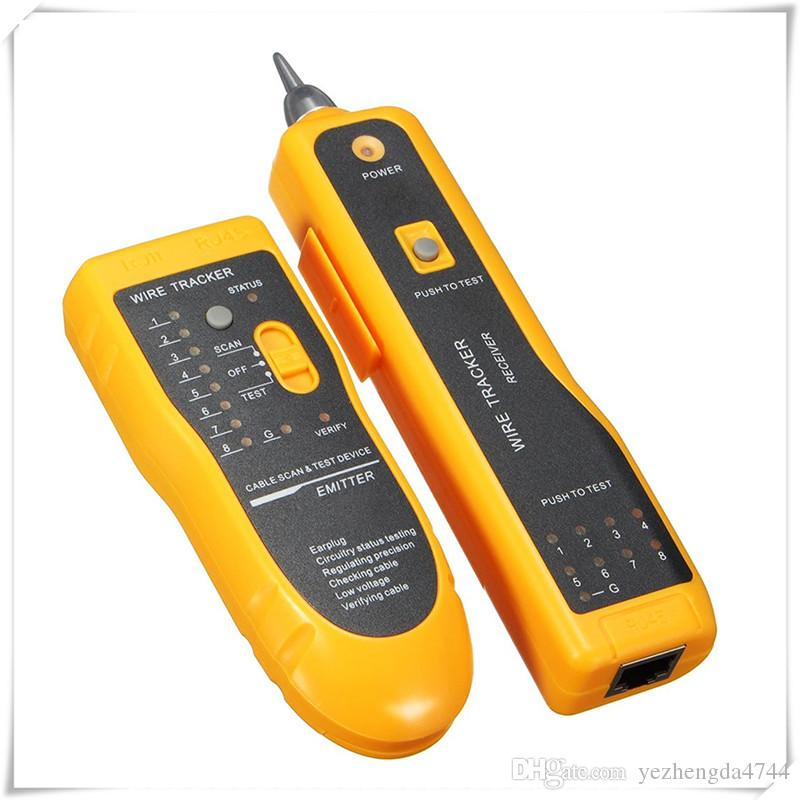 Wire Tracker Line Finder Cable Tester for Network Cable Collation Telephone Line Test with Low Battery Capacity Indication