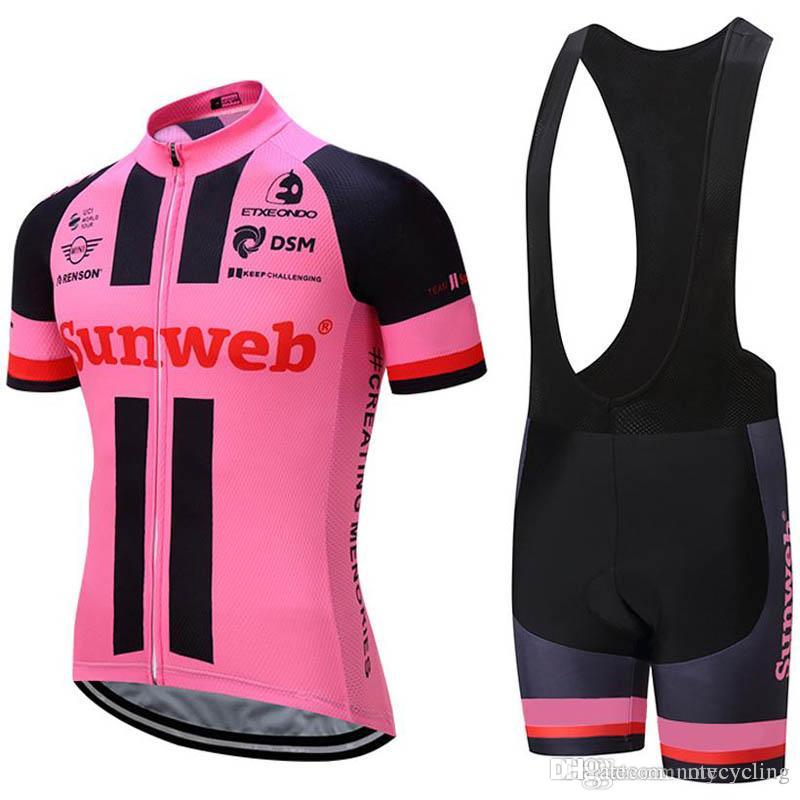 GIANT 2018 Pro Cycling Set MTB Bicycle Wear Bicycle Maillot Ropa Ciclismo Bike Uniform Cycling Jersey Suit Cycling Clothing S073128