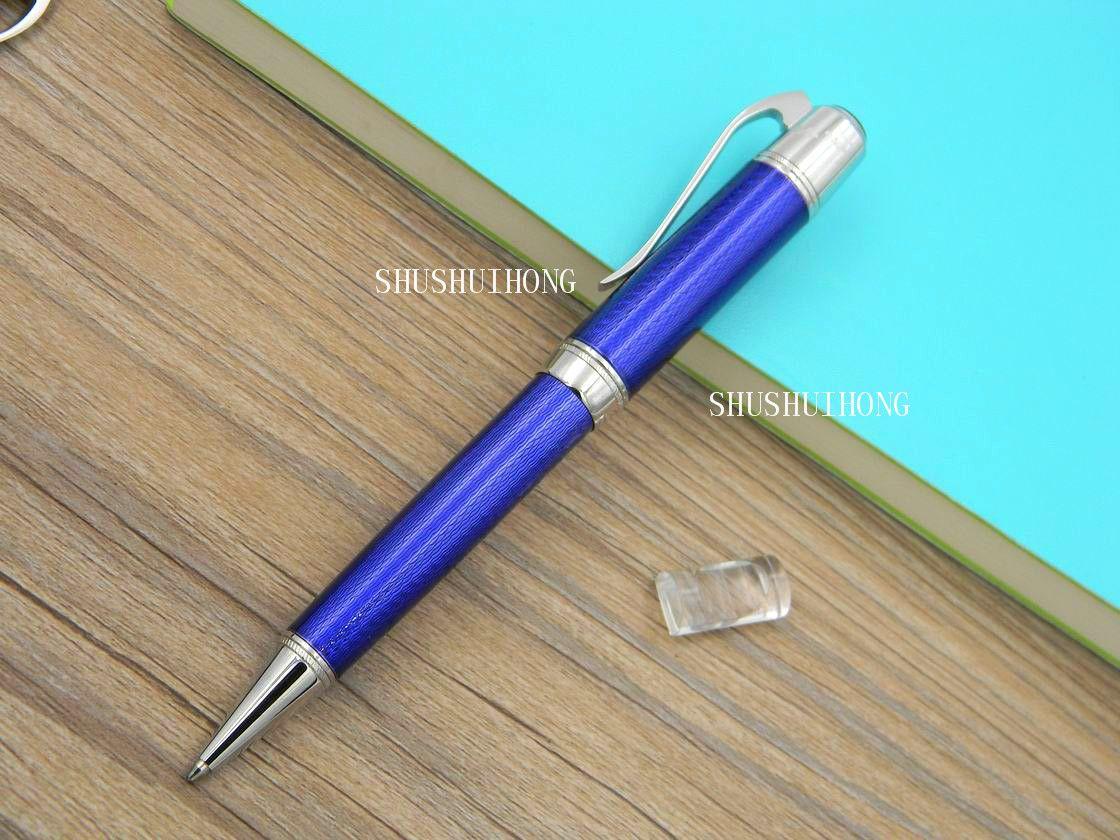 Новый бизнес письменный офис великий писатель полоса выгравированный узор классический океан подарок горячий металл шариковая ручка