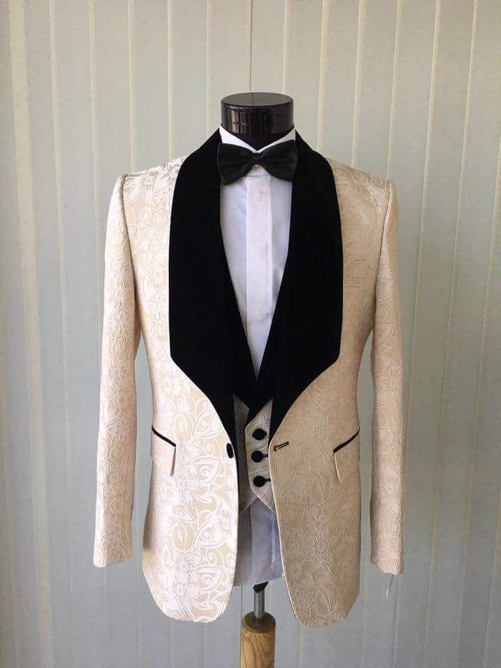 New Arrival Groomsmen Shawl Lapel Groom Tuxedos One Button Men Suits Wedding/Prom Best Man Blazer(Jacket+Pants+Vest+Tie)O45