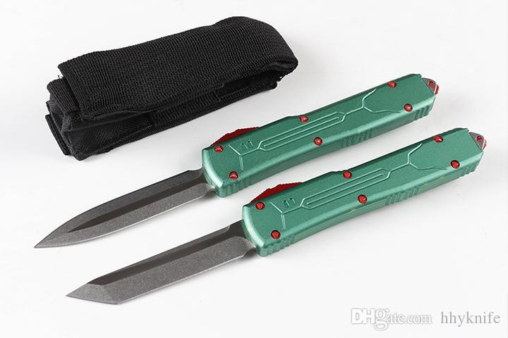 Продвижение A6 UT85 AUTO TACTICAL нож D2 Coney Wash Blade T6061 алюминиевая ручка открытый EDC карманные подарочные ножи