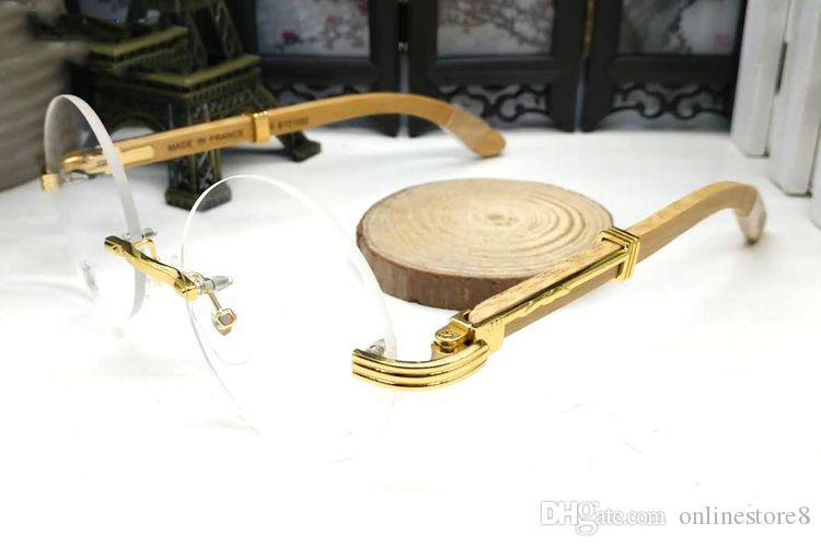 الفاخرة الأسود بافالو القرن ماركة نظارات شمسية رجالي مصمم النظارات البصرية الذهب إطار جولة الأبيض القرن الطبيعي النظارات الشمسية للنساء مع مربع