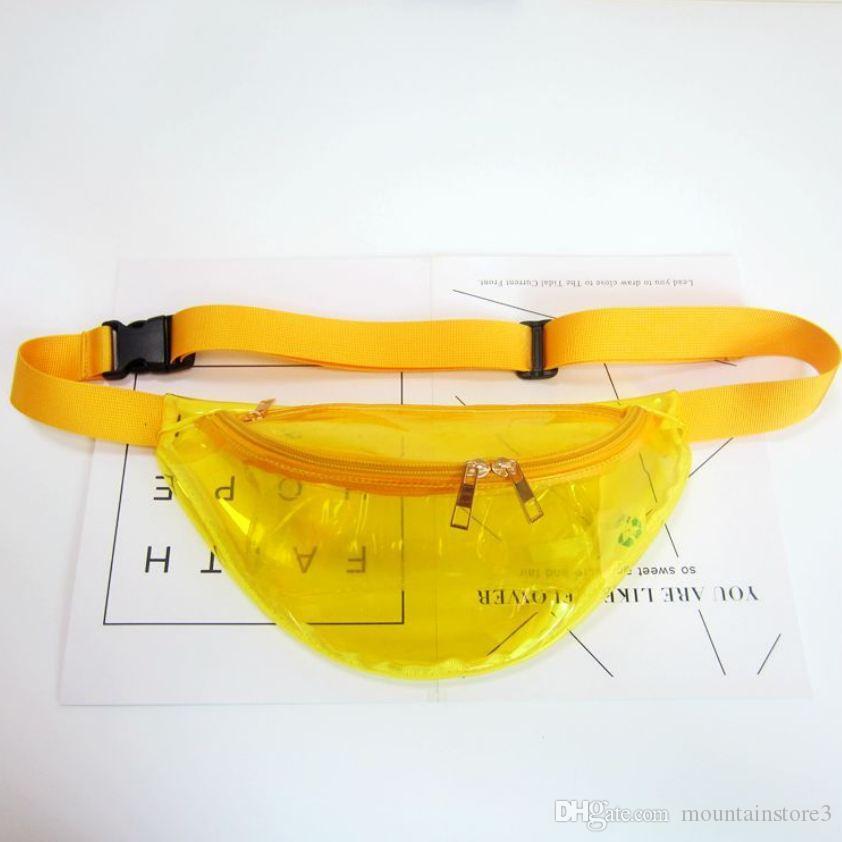 New Holographic Fanny Pack Laser Waist Packs Heuptas Hip Bag Women's Waistband Banana Bags Waist bag Unisex bolso cintura -C