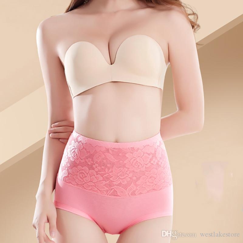 Ropa interior atractiva de la cintura del cuerpo Shaper Briefs Panties Pantalones para adelgazar Pantalones de control de la panza