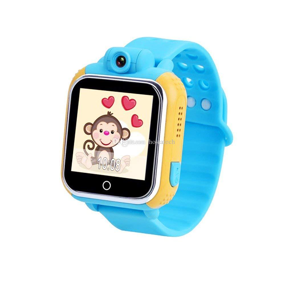 Qualitäts-Smartwatch scherzt Baby 1,54inch Farbtouch Screen Unterstützung 3G GPS LBS Wifi kompatibles ISO und Android-Telefon